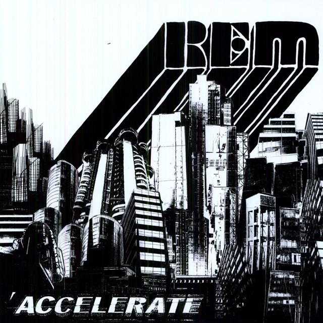 R.E.M. ACCELERATE   (BOX) Vinyl Record - w/CD, 180 Gram Pressing