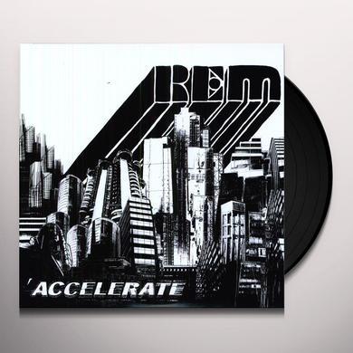R.E.M. ACCELERATE Vinyl Record