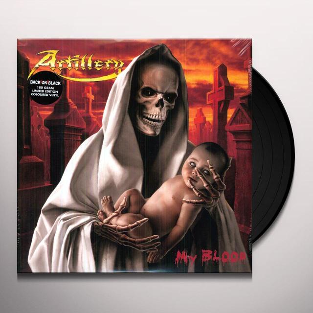 Artillery MY BLOOD Vinyl Record - 180 Gram Pressing