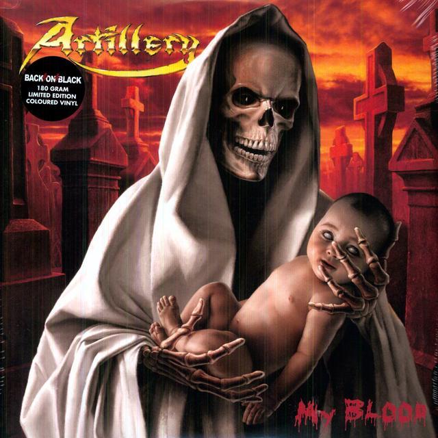 Artillery MY BLOOD Vinyl Record - 180 Gram Pressing
