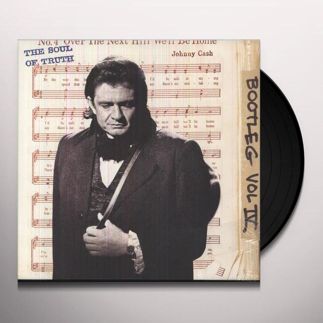 Johnny Cash BOOTLEG IV: THE SOULD OF TRUTH Vinyl Record - Holland Release