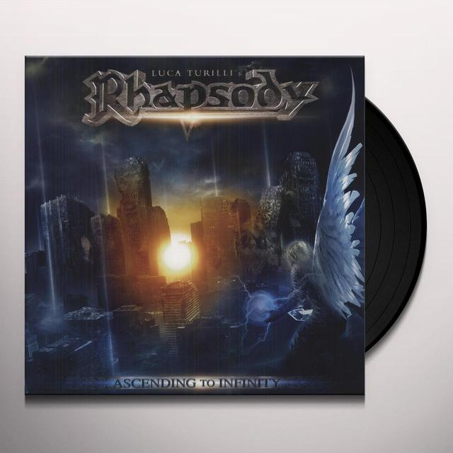 Luca Turilli'S Rhapsody ASCENDING TO INFINITY Vinyl Record - Holland Release