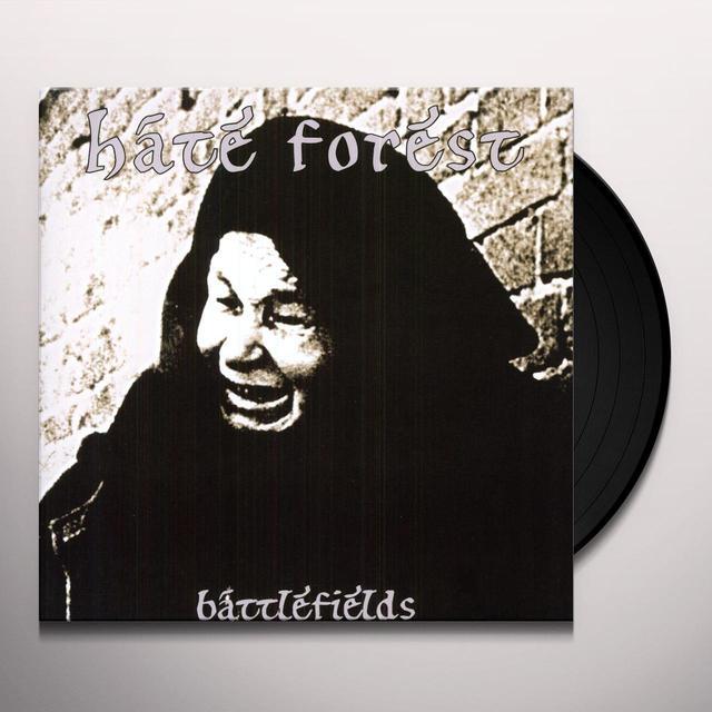 Hate Forest BATTLEFIELDS (OGV) (Vinyl)