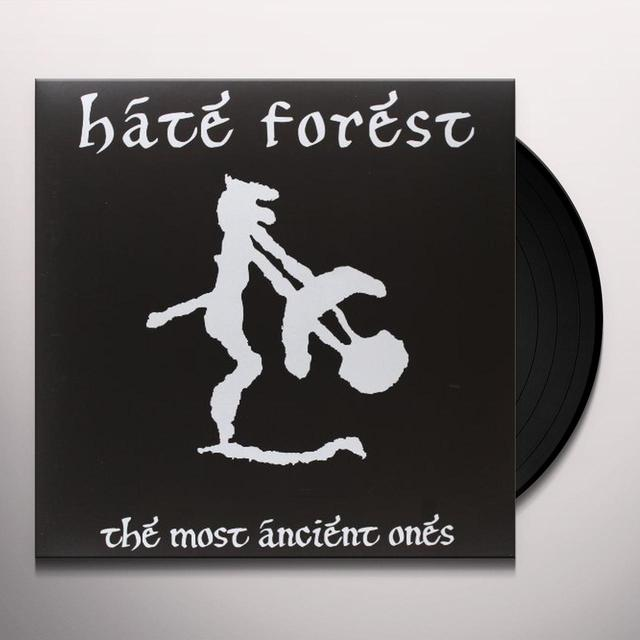 Hate Forest MOST ANCIENT ONES Vinyl Record - 180 Gram Pressing