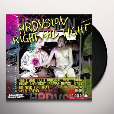 Hrdvsion RIGHT & TIGHT Vinyl Record