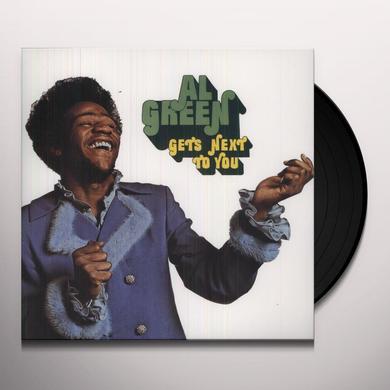 Al Green GETS NEXT TO YOU Vinyl Record