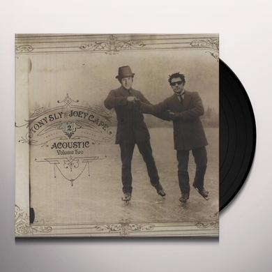 Joey Cape / Tony Sly ACOUSTIC 2 Vinyl Record - Digital Download Included