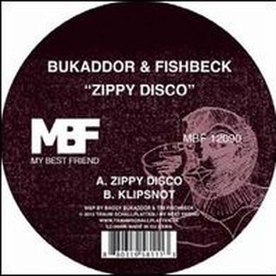 Bukaddor & Fishbeck ZIPPY DISCO Vinyl Record