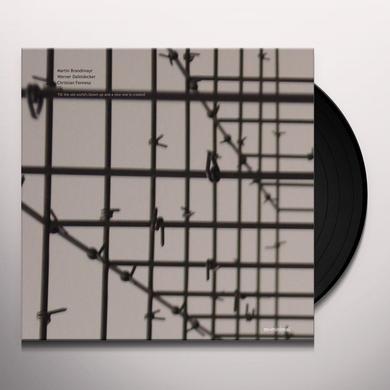 Martin Brandlmayr / Werner Dafeldecker TILL THE OLD WORLD'S BLOWN UP & A NEW ONE IS Vinyl Record