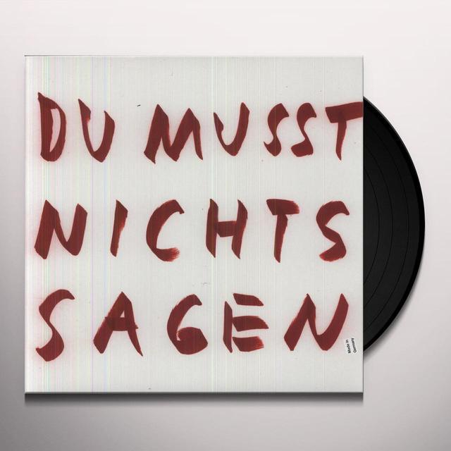 Wolfgang Voigt DU MUSST NICHTS SAGEN REMIXE Vinyl Record