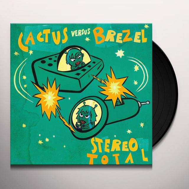 Stereo Total CACTUS VERSUS BREZEL Vinyl Record - w/CD