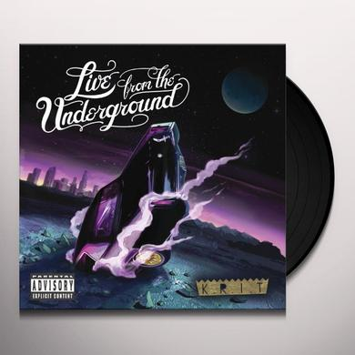 Big K.R.I.T. LIVE FROM THE UNDERGROUND Vinyl Record