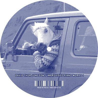 David Thor Jonsson IMPROVISED PIANO WORKS I Vinyl Record