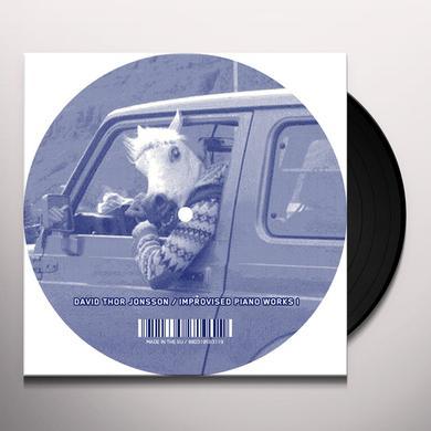David Thor Jonsson IMPROVISED PIANO WORKS I Vinyl Record - w/CD