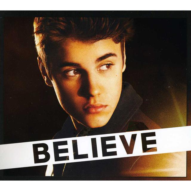 Justin Bieber BELIEVE CD