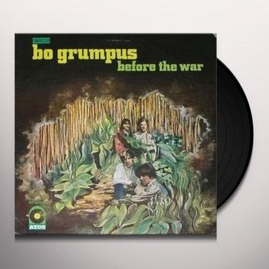 Bo Grumpus BEFORE THE WAR Vinyl Record