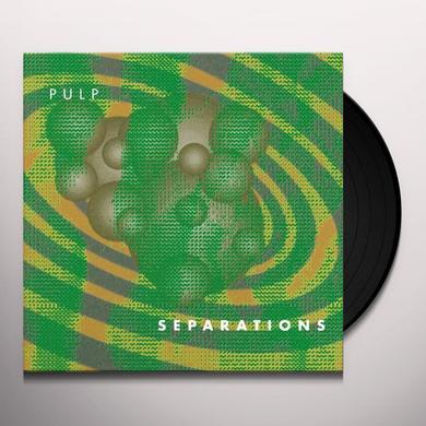 Pulp SEPARATIONS Vinyl Record - 180 Gram Pressing, Reissue