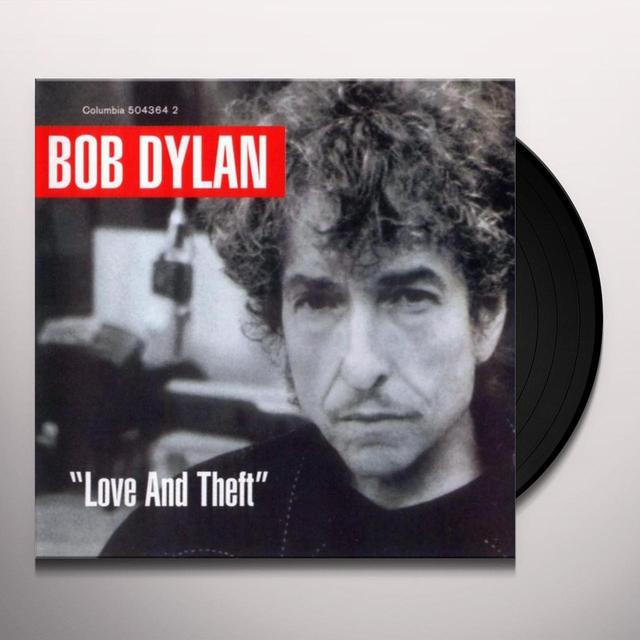Bob Dylan LOVE & THEFT Vinyl Record