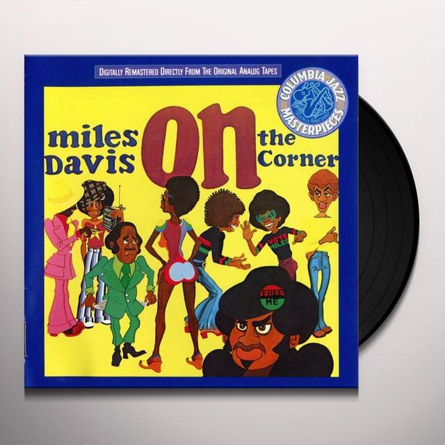 Miles Davis ON THE CORNER Vinyl Record - 180 Gram Pressing