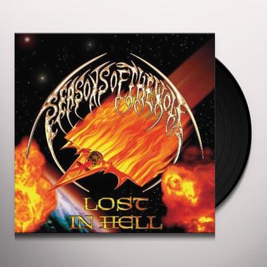 Seasons Of The Wolf LOST IN HELL Vinyl Record