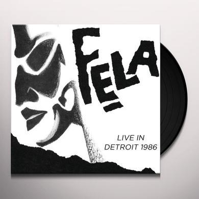 Fela / Egypt 80 Kuti LIVE IN DETROIT 1986 (Vinyl)