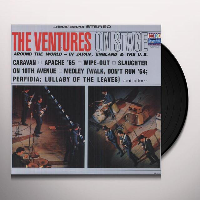 Ventures ON STAGE Vinyl Record