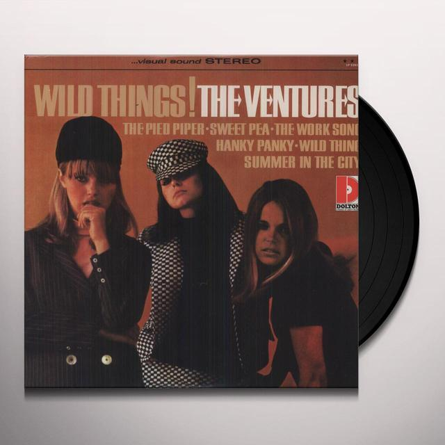 Ventures WILD THINGS Vinyl Record