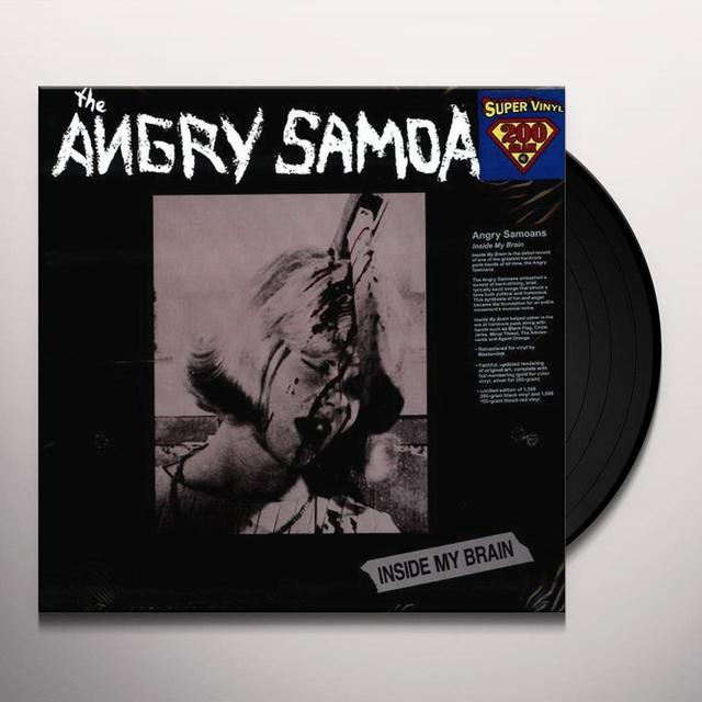 Angry Samoans INSIDE MY BRAIN Vinyl Record - Limited Edition, 180 Gram Pressing