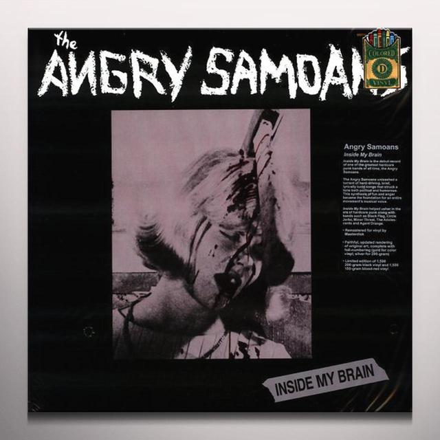 Angry Samoans INSIDE MY BRAIN Vinyl Record - Colored Vinyl, Limited Edition