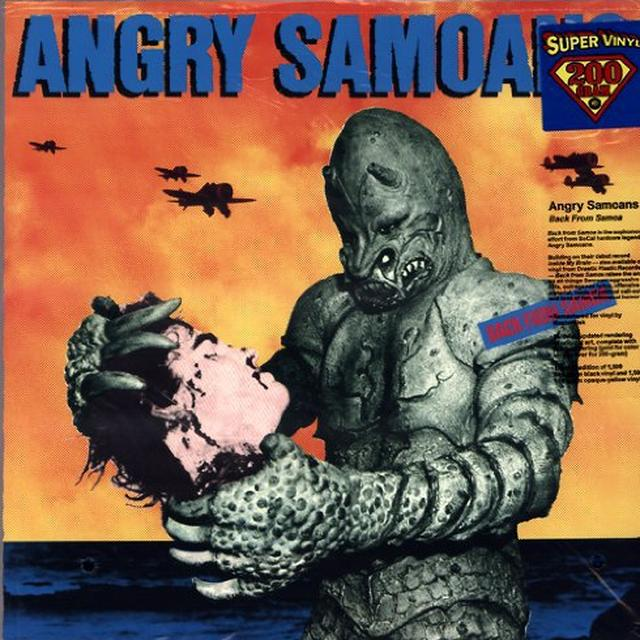 Angry Samoans BACK FROM SAMOA Vinyl Record - Limited Edition, 180 Gram Pressing