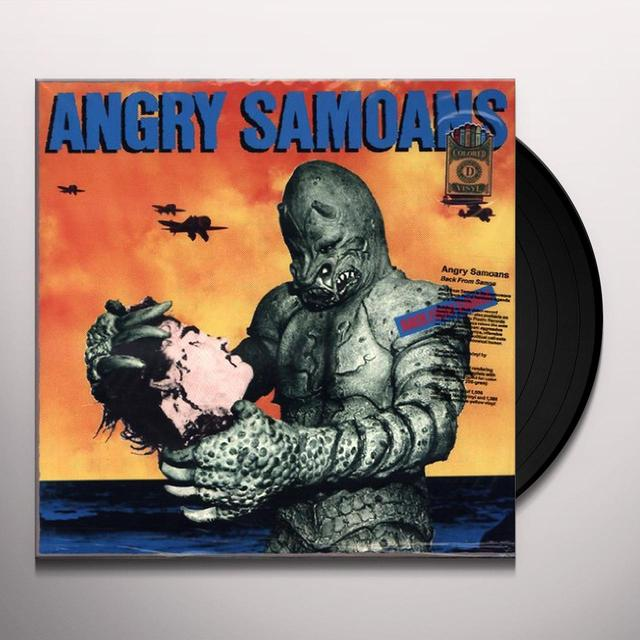 Angry Samoans BACK FROM SAMOA Vinyl Record - Limited Edition