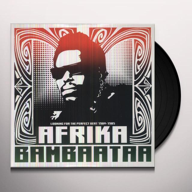 Afrika Bambaataa LOOKING FOR THE PERFECT BEAT 1980 - 1985 Vinyl Record