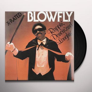 Blowfly RAPPIN, DANCIN & LAUGHIN Vinyl Record