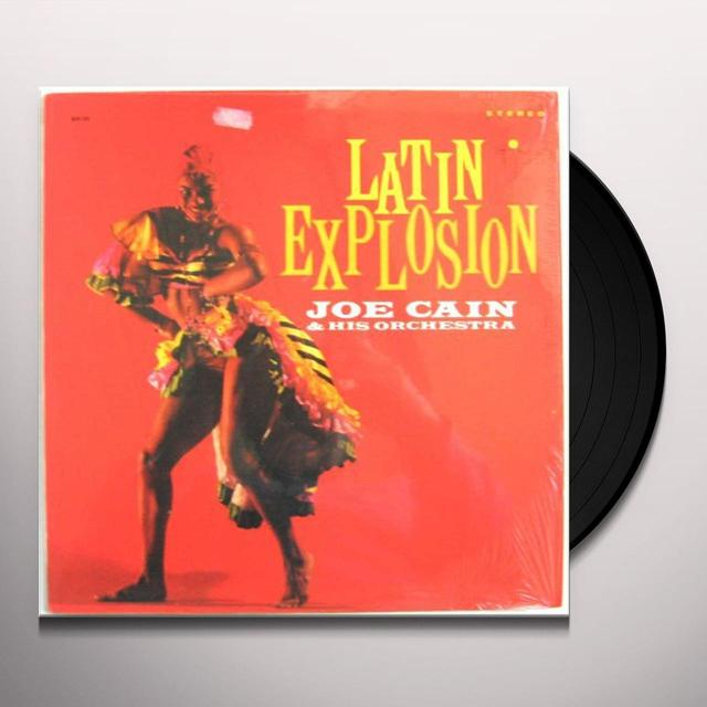 Joe Cain & His Orchestra LATIN EXPLOSION Vinyl Record