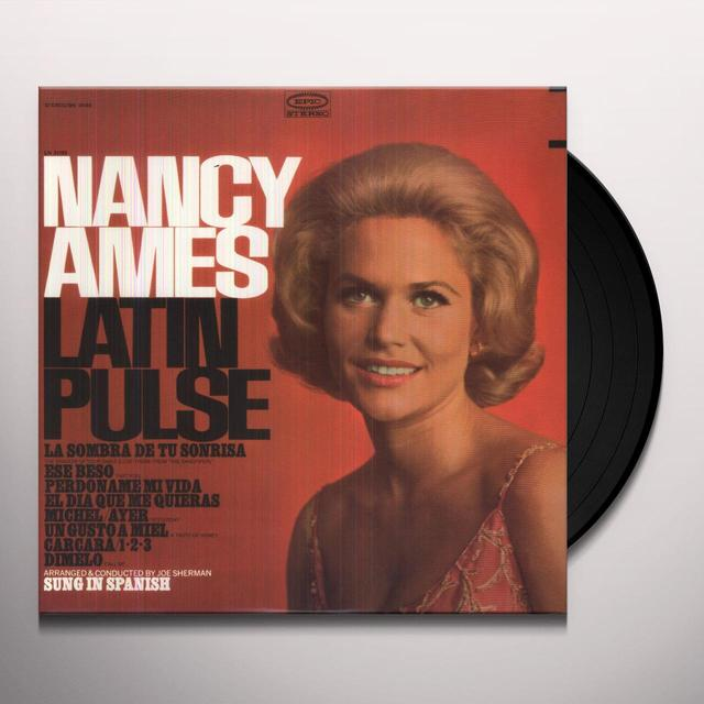 Nancy Ames LATIN PULSE Vinyl Record