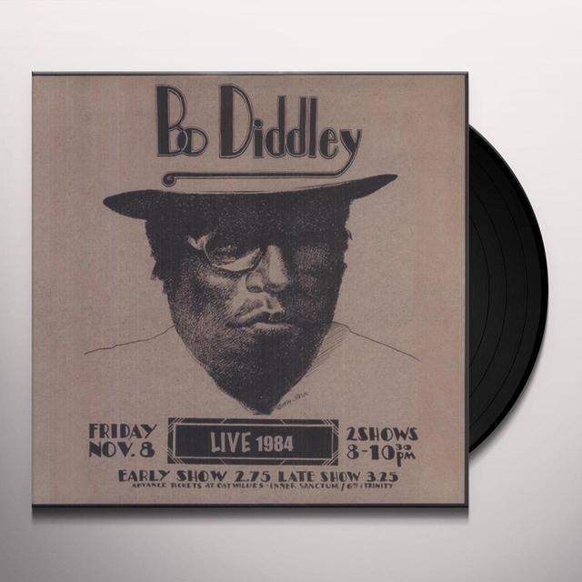 Bo Diddley LIVE 1984 Vinyl Record