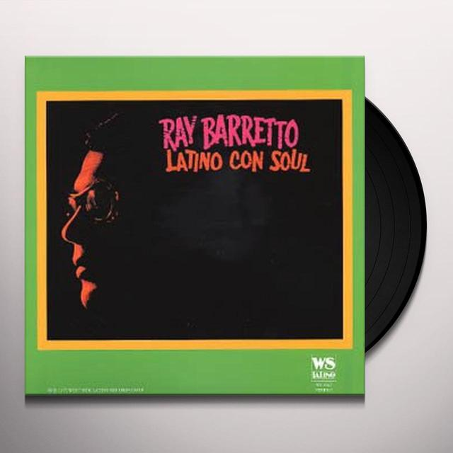 Ray Barretto LATINO CON SOUL Vinyl Record