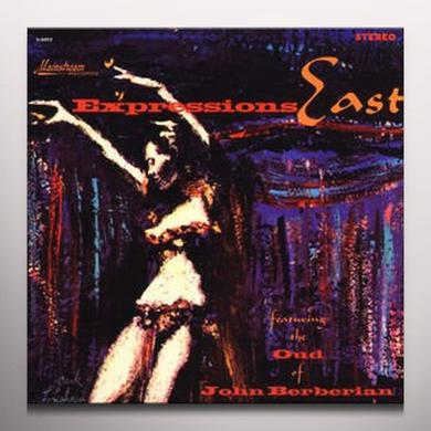 Expressions East FEAT OUD OF JOHN BERBERIAN Vinyl Record - Colored Vinyl