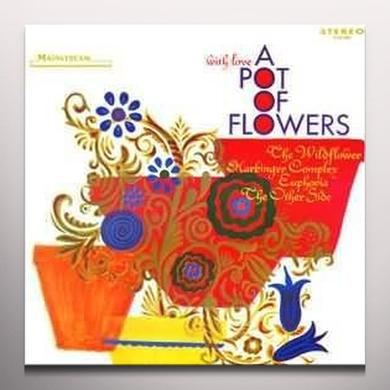 A Pot Of Flowers WITH LOVE Vinyl Record - Colored Vinyl