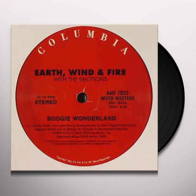 Earth, Wind & Fire BOOGIE WONDERLAND / SEPENTINE FIRE Vinyl Record