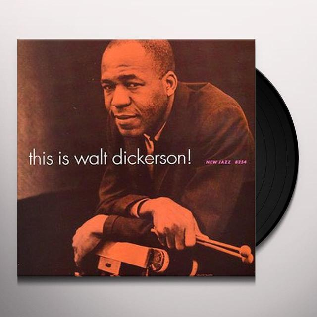THIS IS WALT DICKERSON Vinyl Record