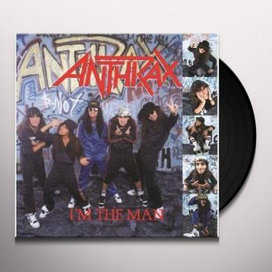 Anthrax I'M THE MAN Vinyl Record