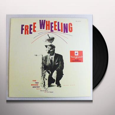 Ted Brown FREE WHEELING Vinyl Record