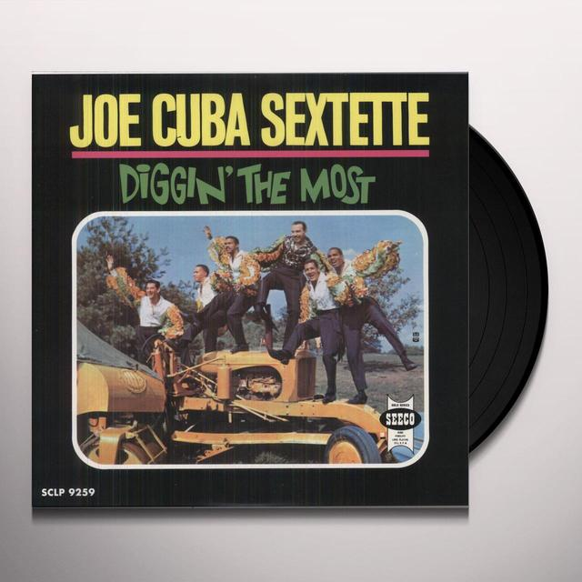 Joe Cuba DIGGIN THE MOST Vinyl Record