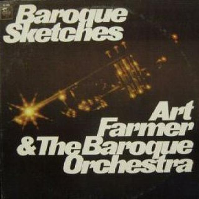 Art Farmer BAROQUE SKETCHES Vinyl Record