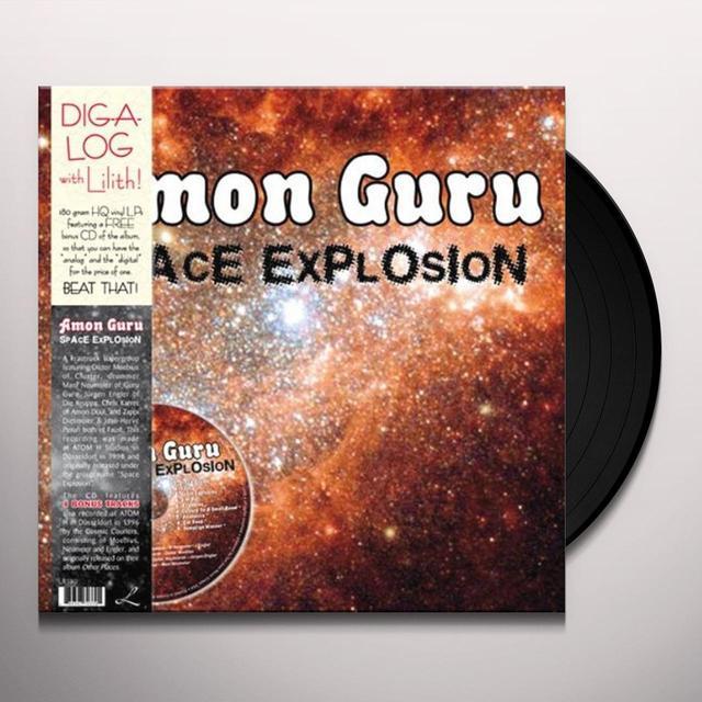 Amon Guru SPACE EXPLOSION Vinyl Record - w/CD, 180 Gram Pressing