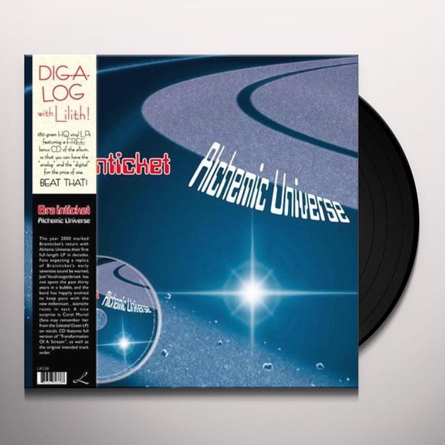 Brainticket ALCHEMIC UNIVERSE Vinyl Record - w/CD, 180 Gram Pressing