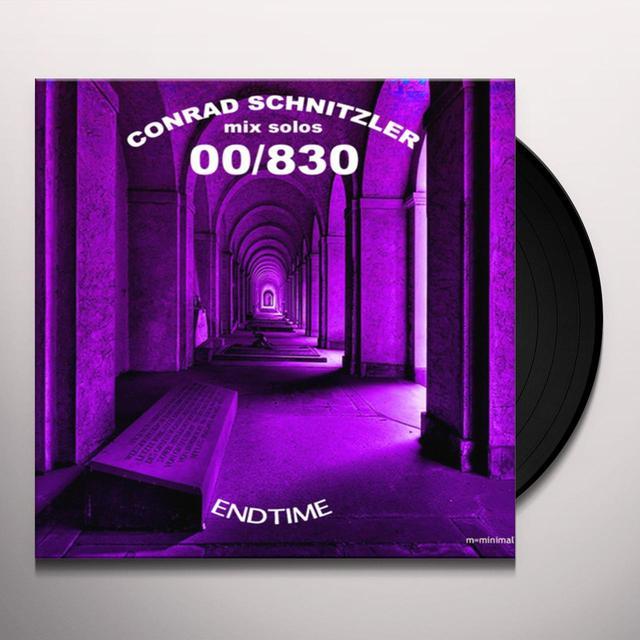Conrad Schnitzler ENDTIME Vinyl Record