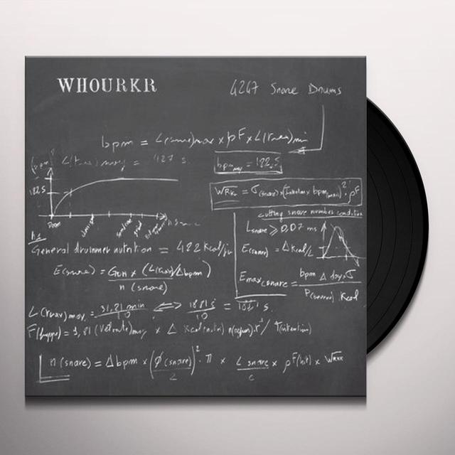Whourkr 4247 SNARE DRUMS Vinyl Record