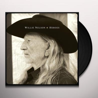 Willie Nelson HEROES Vinyl Record - 180 Gram Pressing